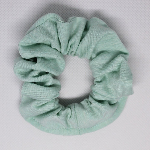 Solid Mint Green Scrunchie