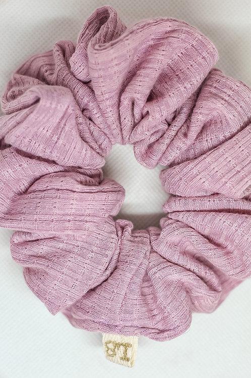 Luxe Periwinkle Scrunchie