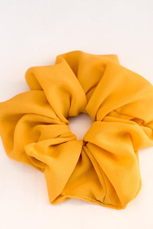 Golden Mustard Oversized Scrunchie