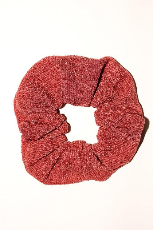 Brick Textured Sparkle Scrunchie