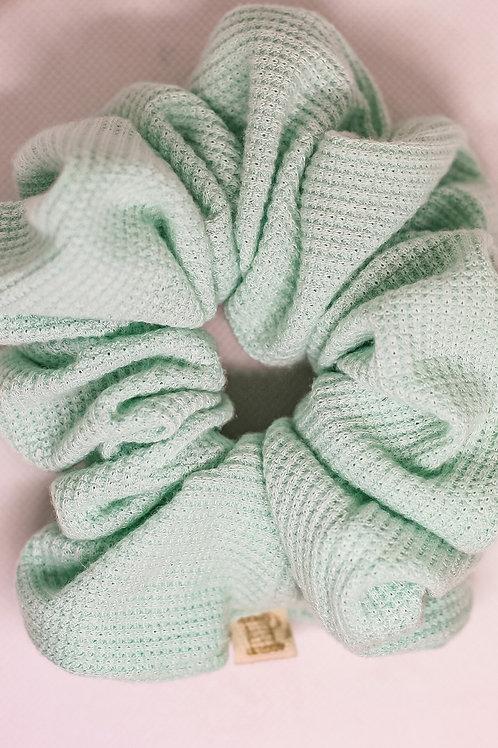 Luxe Mint Scrunchie