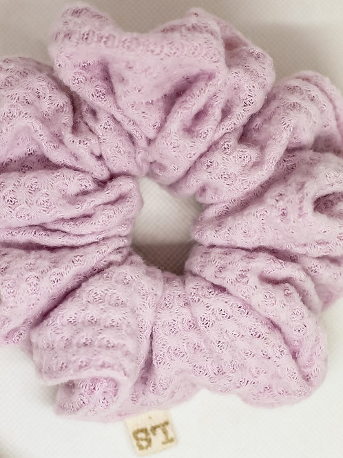 Luxe Lilac Scrunchie