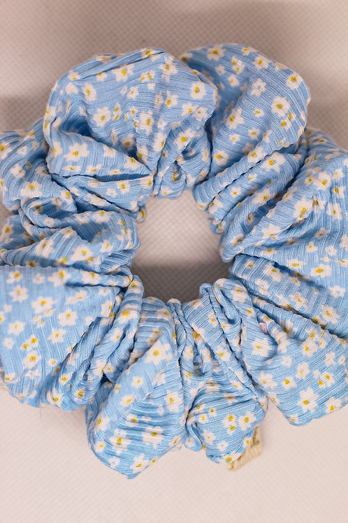 Luxe Bluebell Scrunchie