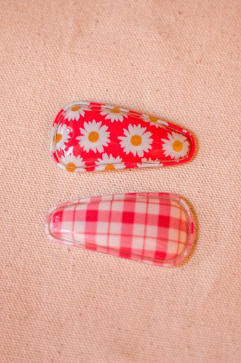 Pink Fling Clip Duo