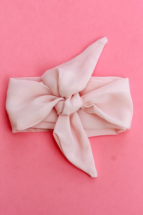 Blush Pink Hair Scarf