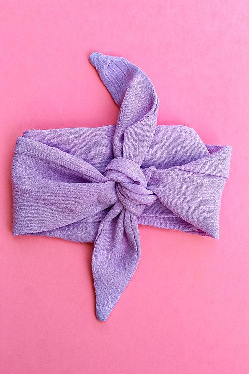 Lavender Dream Hair Scarf