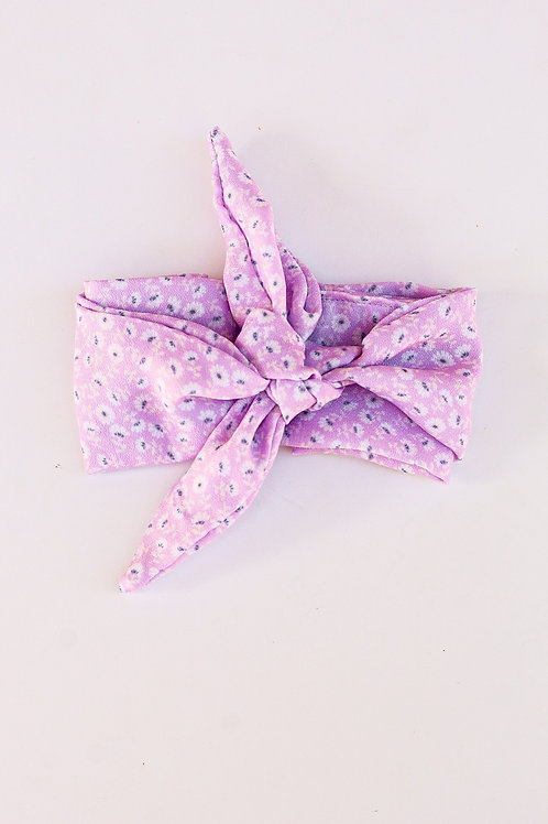 Lilac Lily Floral Hair Scarf