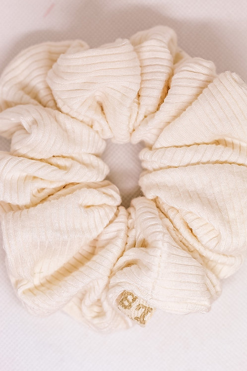 Luxe Ivory Scrunchie
