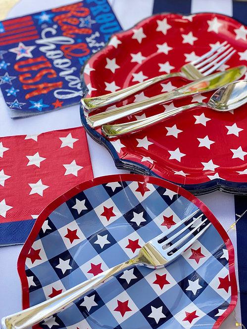Extra Tableware- Stars & Stripes