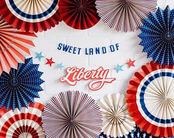 Sweet Land of Liberty Banner