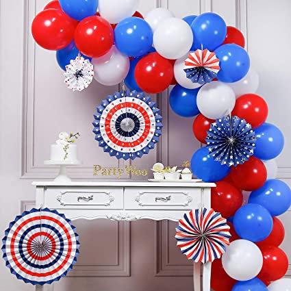 Stars & Stripes Balloon Arch Kit