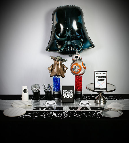 """Star Wars Party Box """"PARTY TIME"""" Size"""