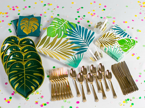 Add-on - Tropic Vibes Table & Flatware