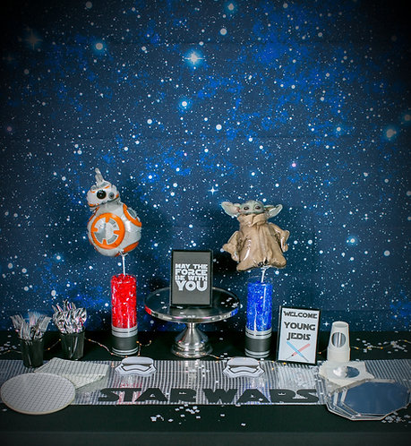 """Star Wars Party Box """"PARTY HARD"""" Size"""