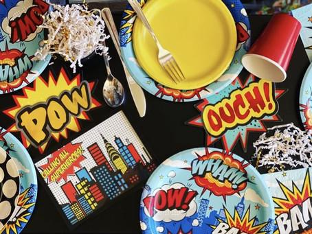 Throw a S U P E R Awesome Superhero Party! (with ease)