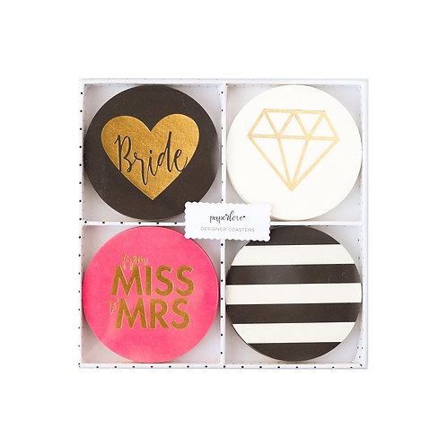 Bride to Be Designer Coasters