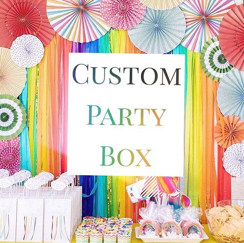 Custom Party Box Design