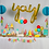 "Thumbnail: Classic Birthday Box ""PARTY ON"" Size"