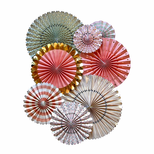 Spring Trend Foiled Party Fans