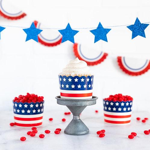 Stars & Stripes Baking Cups