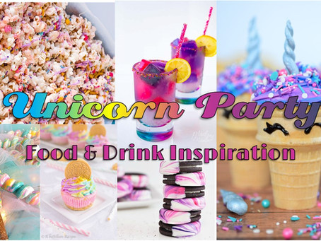 Unicorn Party: Food & Drink Inspiration