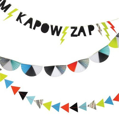 BOOM POW ZAP Banner