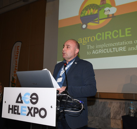 Nikos Pavlonasios, Vice- President of the Panhellenic Association of Young Farmers