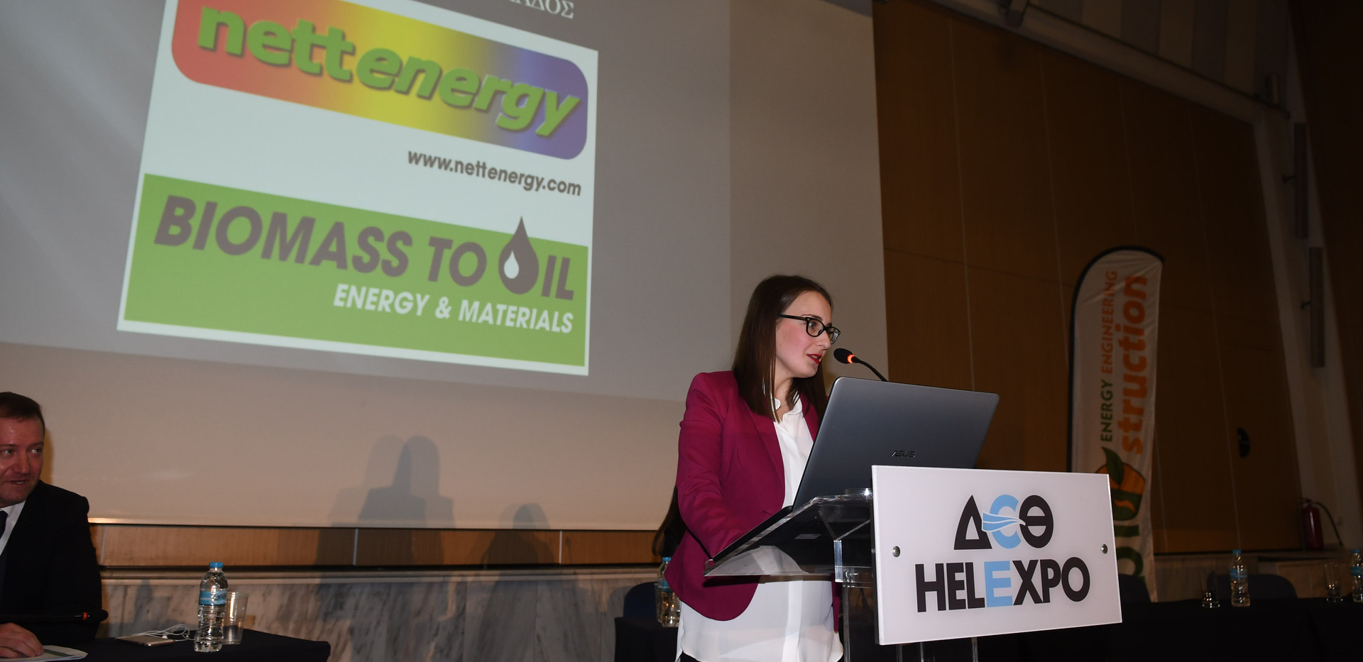 Anastasia Giotsa, Representative of NetEnergy-Biostruction