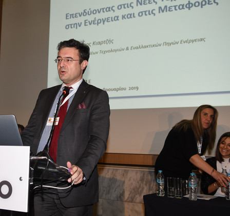 Dr. Spiros Kiartzis, Director of New Technologies and Alternative Energy Sources, Hellenic Petroleum