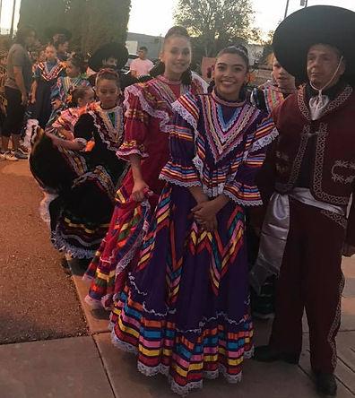 Dancers at 2018 Fiesta