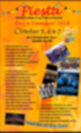2018 Fiesta de la Familia Schedule