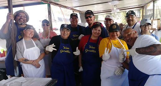 Gorditas Volunteers at 2018 Fiesta