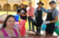 Volunteers at 2018 Fiesta