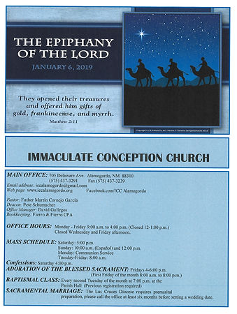 January 6th Bulletin