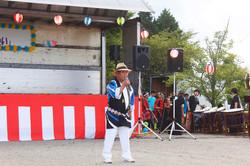 原川二郎さんの歌謡ショー