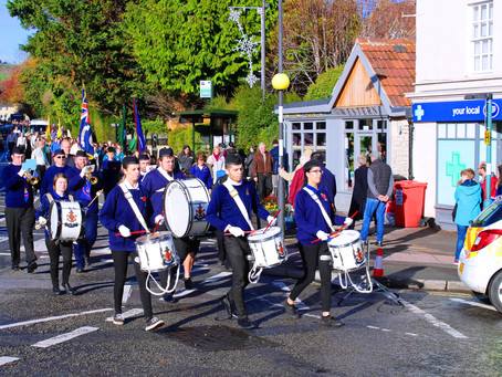Remembrance Sunday brings the community at Weston  together