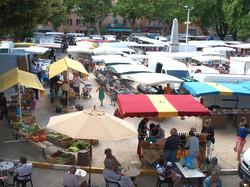 Le marché à Thueyts