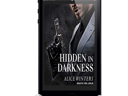 Hidden in Darkness is now on Audible!