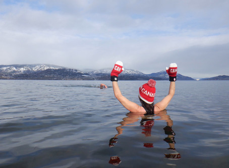 Check out the CBC article about our Chilly Dippers!