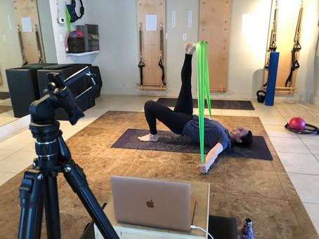 Kelowna Pilates Studio Transforms Business to Virtual in Two Days
