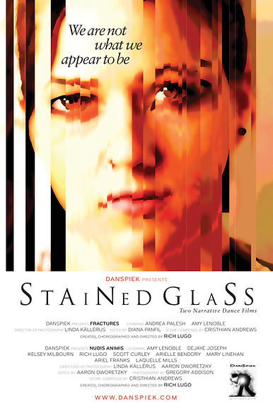 Danspiek, Stained Glass, Richard Lugo, Dance, CSU