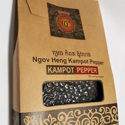 Kampot pepper 100gms ( Black or White)