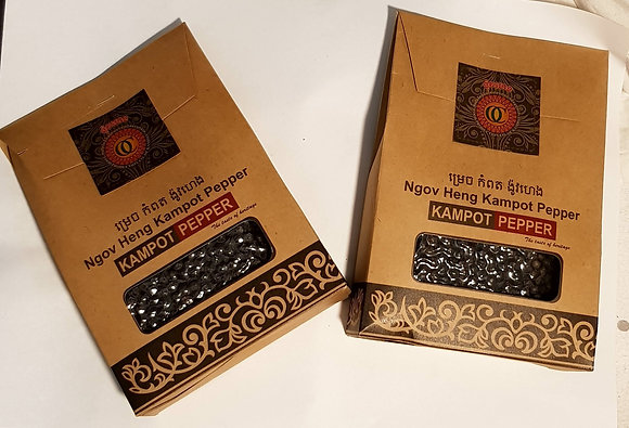 *Double deal* x 2 Kampot Pepper 100g(Black or White)
