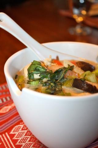 Tom Yam Gai (Thai Chicken Soup)