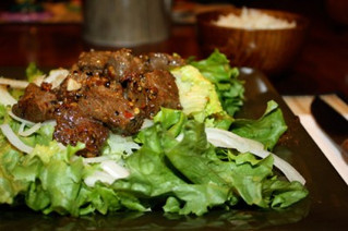 Kampot Pepper and Lime Beef Salad