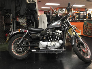The crew at Brown's Cycles are trying to decide what to do with a limited 1983 H-D XR1000