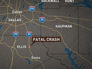 Stolen motorcycle suspect dies in Ellis County crash