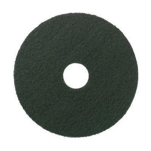 """15"""" Green floor pads - medium grade"""
