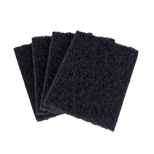Black Griddle Pad 14x10cm
