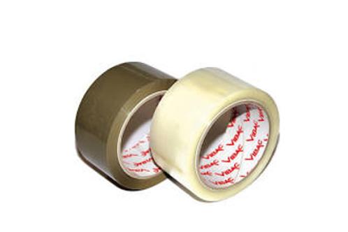 Vibac 831 Polypropylene Tape Low Noise Buff 30mu 48mmx66m